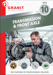 Granit transmission and front axle